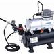 General HS Air Compressor W/Fan & Tank. Includes Hose & HS-80 Airbrush
