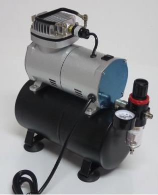 General HS Air Compressor W/Fan & Tank. Airbrush use