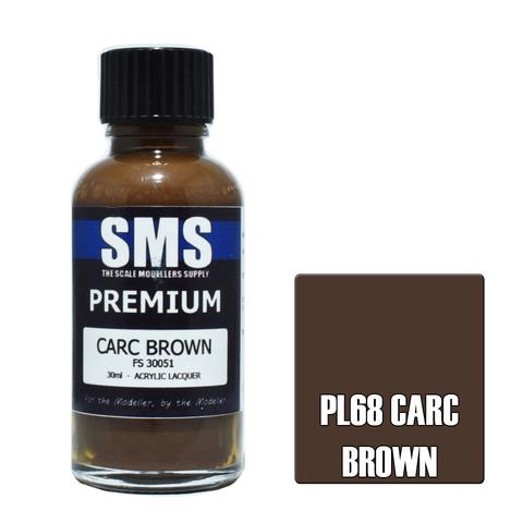 Paint SMS Premium Acrylic Lacquer CARC BROWN FS30051 30ml