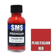 Paint SMS Premium Acrylic Lacquer ITALIAN RED RAL3002 30ml