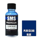 Paint SMS Premium Acrylic Lacquer CLEAR BLUE 30ml