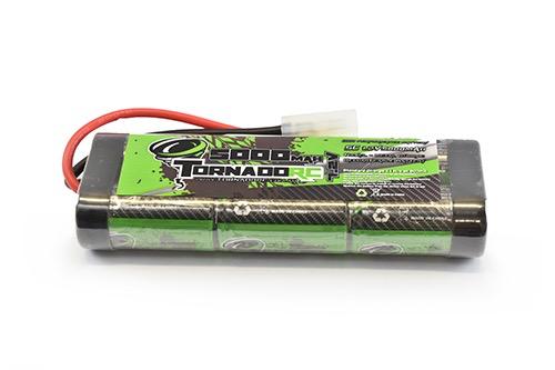 Battery NiMh TORNADO RC 5000Mah 7.2V Nimh Stickpack Tamiya Connector