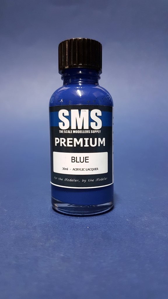 Paint SMS Premium Acrylic Lacquer BLUE 30ml