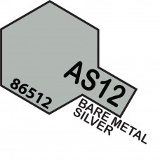 Plastic Kits TAMIYA AS-12 Bare-Metal Silver. (Aircraft)