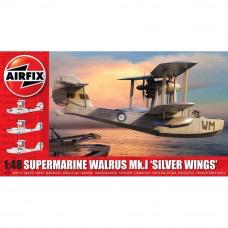 "Plastic Kits Airfix (c) Supermarine Walrus ""Silver Wings"" - 1:48 Scale"