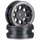 Wheels AXIAL 8-Hole 1.9 Beadlock Wheel Black (2)