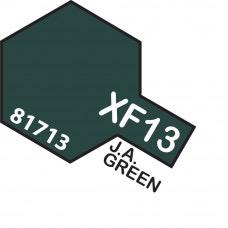 Paint Tamiya Color Mini Acrylic Paint XF-13 J. A. Green (Flat)