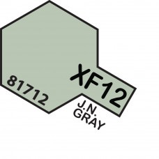 Paint Tamiya Color Mini Acrylic Paint XF-12 J. N. Gray (Flat)