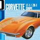Plastic Kits AMT (new) 1:25 1970 Chevy Corvette Coupe Car