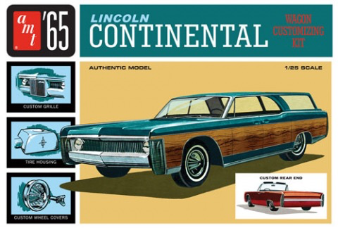 Plastic Kits AMT (new) 1965 Lincoln Continental Car