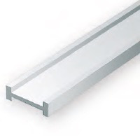 Static Models EVERGREEN 277 35cm Plastic I-Beam .250 (Pack 3)