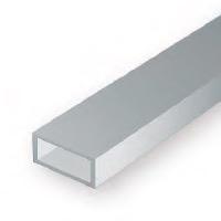 Static Models EVERGREEN 257 35cm Plastic Rectangular Tubing .125 (Pack 3)