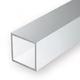 Static Models EVERGREEN 252 35cm Plastic Square Tubing .125 (Pack 3)