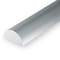 Static Models EVERGREEN 244 35cm Plastic Half Round .125 (Pack 3)