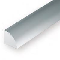 Static Models EVERGREEN 248 35cm Plastic Quarter Round .060 (Pack 4)