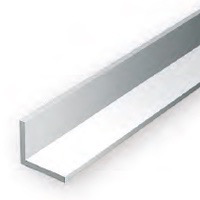 Static Models EVERGREEN 297 35cm Plastic Angle .250 (Pack 2)
