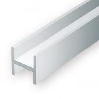 Static Models EVERGREEN 286 35cm Plastic H-Column .188  ( Pack 3)
