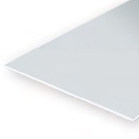 Static Models EVERGREEN 9100 15 X 30cm Sheet Plain .100  (Pack 1)