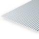 Static Models EVERGREEN 4526 1mm Thick 15 X 30cm Metal Siding .040 (Each)