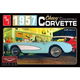 Plastic Kits AMT (new) 1/25 Cindy Lewis Car Culture - 1957 Chevy Corvette Convertible (White)