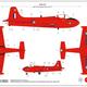 Plastic Kits Airfix Hunting Percival Jet Provost T.4 Starter Set 1:72