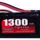 Battery LiPo Redback Lipo Battery 7.4V,1300MAH 30C, Flight