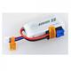 Battery LiPo Dualsky ECO-S LiPo Battery, 1300mAh 3S 25C/EC3 suit Mini Apprentice/Super Cub