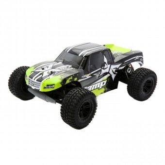 Cars Elect RTR Electrix Amp 1/10 2wd Monster Truck RTR - Black / Green incl Battery & Charger