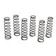Parts TLR 16mm Rear Shock Spring Set 3pr suit 8T