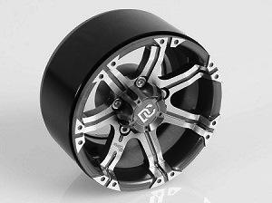 """Wheels RC4WD Dick Cepek Gun Metal 7 1.9"""" Internal Beadlock Wheels"""