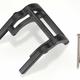 Parts Traxxas Wheelie bar mount (1)/ hardware suit Stampede