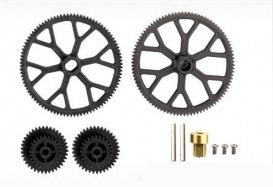 Heli Elect Parts Volitation Main Gear Set, A(11)x2 Pinion (12)x2 9053