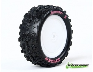Wheels Louise World E-Spider 1/10 Buggy Front Hex Soft