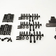 Parts Axial SCX10 TR Links Set 12.3' 313mm WB (Fits Trail Honcho Body & other standard wheelbase bodies)