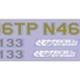 Parts E-GO Green Cam Sticker Set