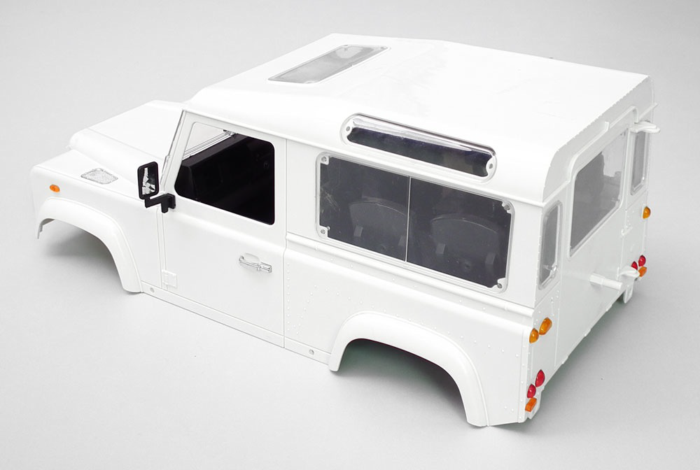 Parts RC4WD 1/10 Land Rover Defender D90 Hard Plastic Body Kit