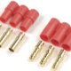 General Gforce 3.5mm Gold Connector, 3 Pins Male + Female (1Set)