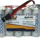 Battery NiMh MI Rx Battery Eneloop 2000mA 6V Flat JR Con