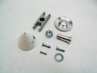 Prop Graupner 32mm Spinner & Clamp 5mm Shaft