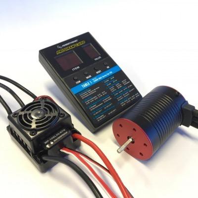 Elect Speed Cont Ace HW B/less Combo 4000KV/50amp WP esc