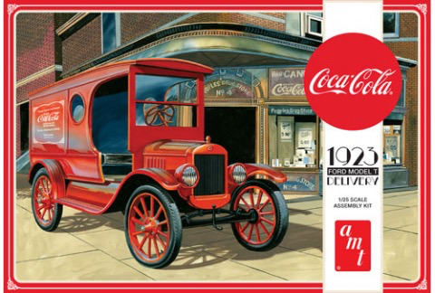 Plastic Kits AMT 1/25 Coca Cola 1923 Ford Model  T Delivery
