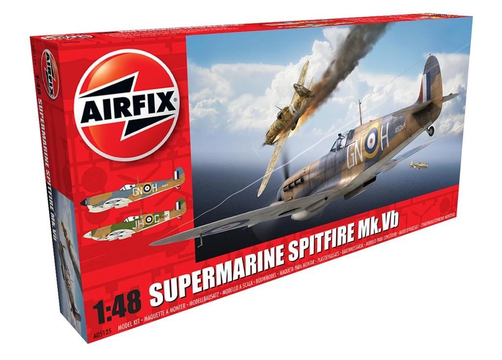 Plastic Kits Airfix Supermarine Spitfire MkVb 1:48