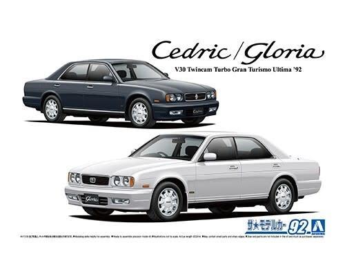 Plastic Kits Aoshima 1/24 Scale - Nissan Y32 Cedric/Gloria Granturismo ultima '92