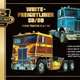 Plastic Kits AMT 1/25 White Freightliner 2-in-1