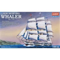 Plastic Kits Academy  1/200 New Bedford Whaler Plastic Model Kit