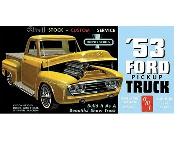 Plastic Kits AMT 1/25  1953 Ford Pickup.