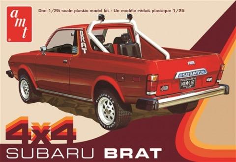 Plastic Kits AMT  1/25 Scale - 1978 Subaru Brat Pickup 2T