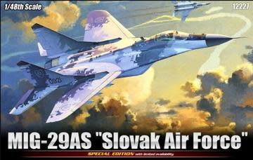 Plastic Kits ACADEMY  1/48 Scale - Mig-29AS Limited Edition Reproduction