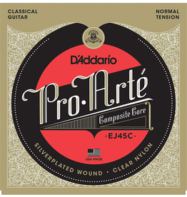 Daddario NylonStrings28 to 44 Dadd Ej45c 028-044 Composites Classical 648mm Scale Normal Tension
