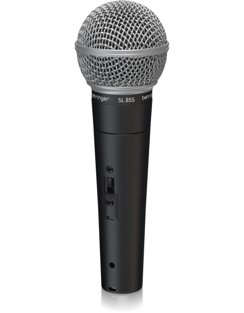 Behringer SL85S Dynamic Cardioid Microphone w/ switch
